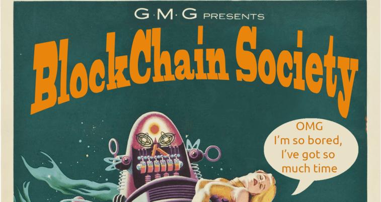 retro blockchain society