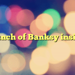 A bunch of Banksy insights