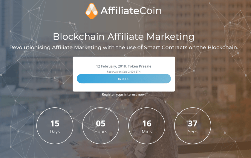 AirDrop情報!$AFL(AffiliateCoin/アフィリエイトコイン)。登録で25AFL+SNS登録シェアなどで更に。仮想通貨新規ICO AffiliateCoin 最新情報