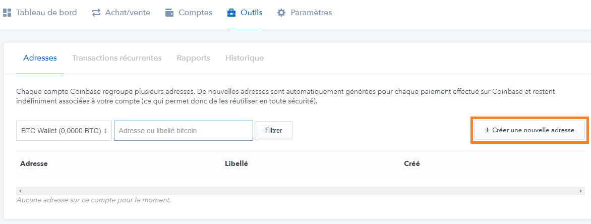 creation-adresse-bitcoin-coinbase-portefeuille
