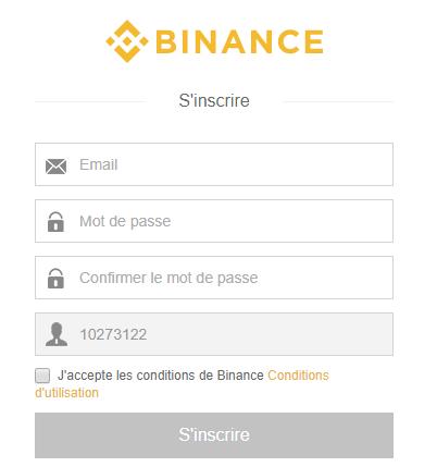 inscription-binance-etape-2