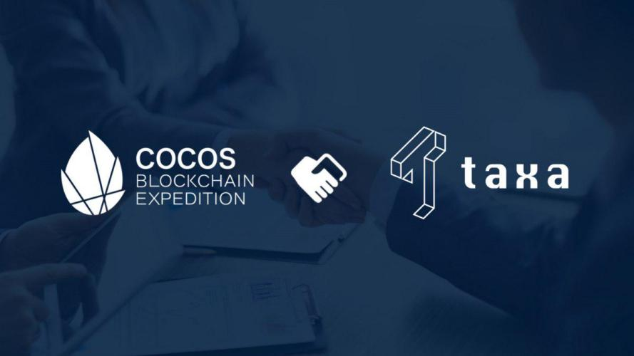 Cocos-BCX تعلن شراكة جديدة مع Taxa Network