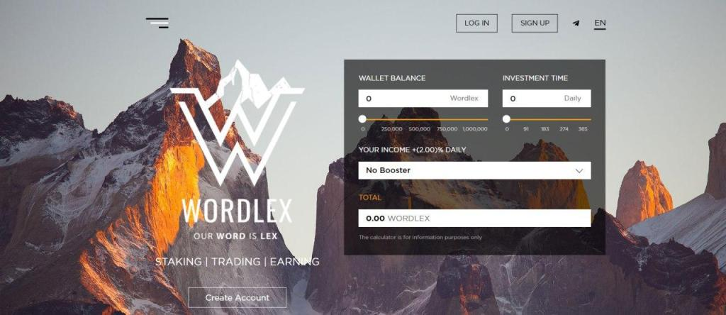 Wordlex -  تطوير البرامج والنصوص والمنتجات في قطاع البلوكشين