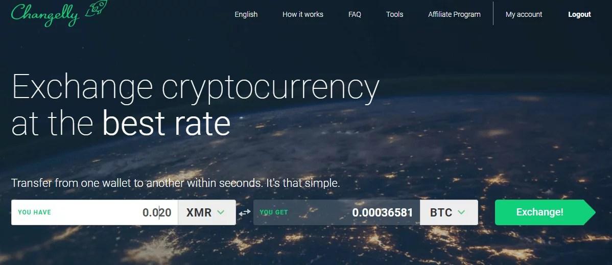 Trading XMR for BTC