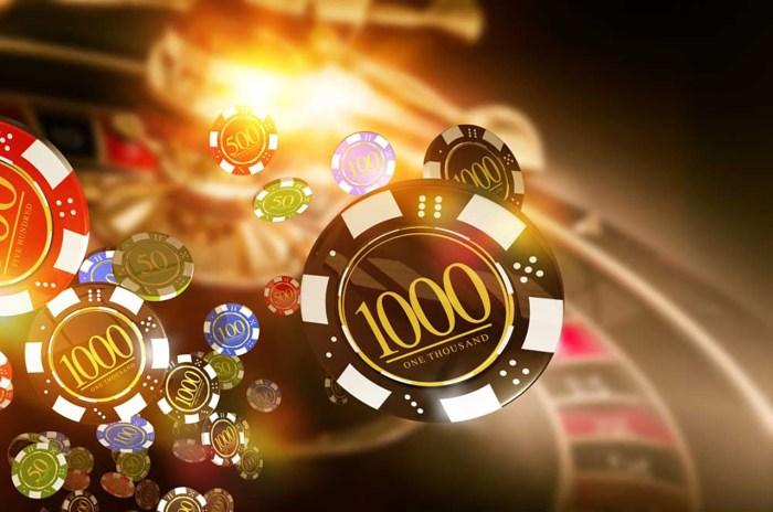 Blockchain casino game