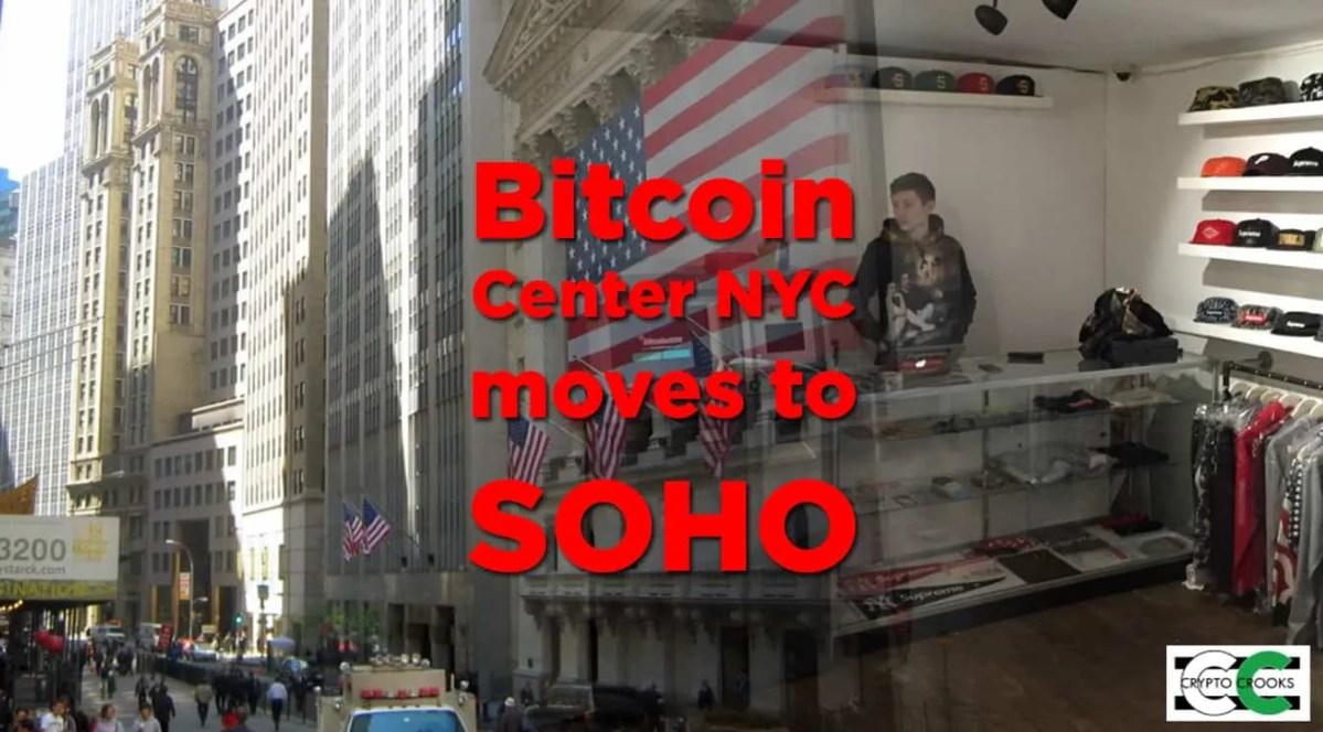 Bitcoin Center NYC Moves Location
