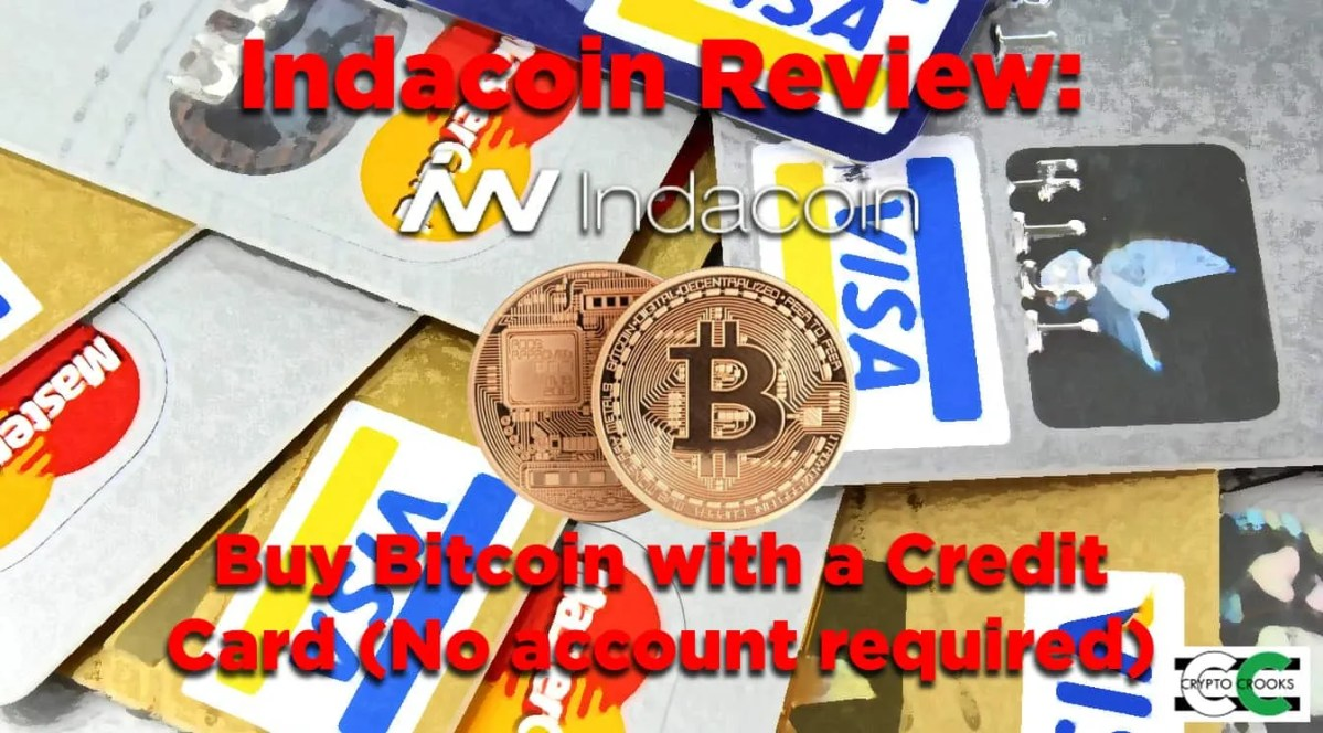 Indacoin Review: Buy Bitcoin with Credit Card