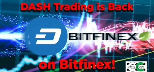 dash trading bitfinex