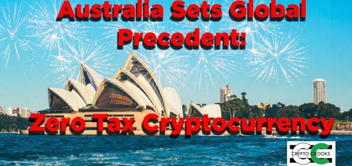 Australia Tax Bitcoin