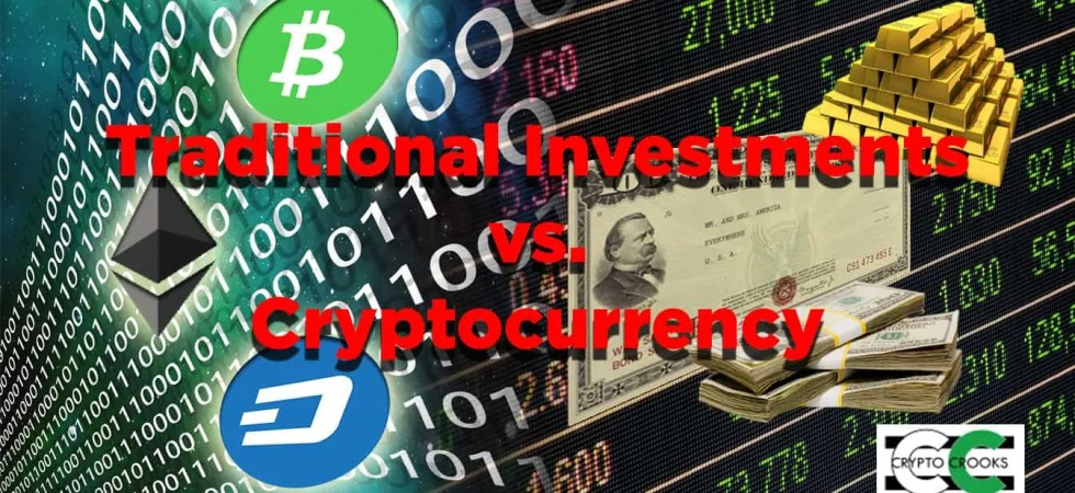 cryptocurrency vs traditional investments