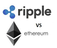 Ripple vs ethereum