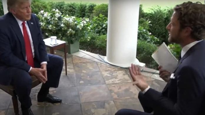 Dave Portnoy's Trump Interview Was once As Attention-grabbing As It Was once Fruitless
