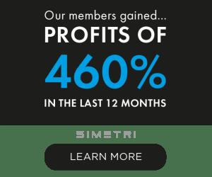 SIMETRI gains of 460%