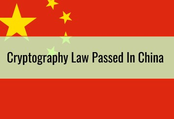 Cryptography Law Passed In China