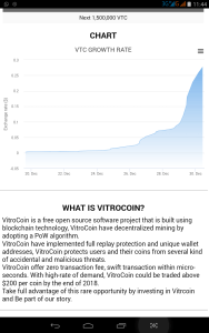 VITROCOIN - Rising Cryptocurrency