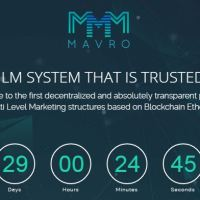 MAVRO Cryptocurrency Coin