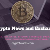 Cryptofxrates.com Live Cryptocurrency Price Today
