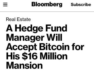 A Hedge Fund Manager Accept Bitcoin