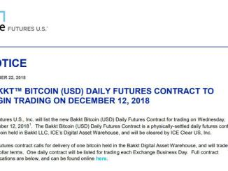 Bakkt Bitcoin Daily Futures Contract will be launched
