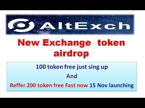 Register AltExch Exchange Account To Get 100 AEX Tokens Free Worth $10