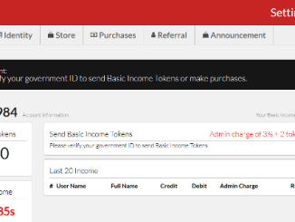 Register Basic Income Account To Get Daily 100 Basic Icome Tokens Free