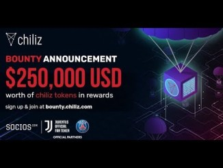ChiliZ Crypto Bounty Tutorial - Earn CHZ Tokens Free - Worth Up To $18 ~ $10,000