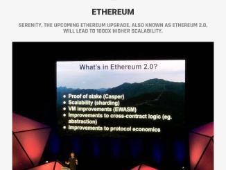 Vitalik Buterin Spoken About Ethereum 2.0 At Devcon 4