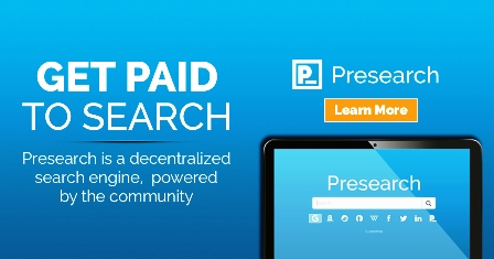 Register Presearch Account To Get 25 PRE Tokens Free And Get
