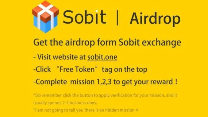 Register Sobit One Exchange Get Sbt Token Types Free