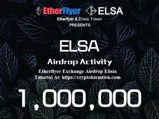 Etherflyer Exchange Airdrop Elisia – Earn ELSA Tokens Free