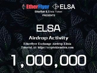 Etherflyer Exchange Airdrop Elisia – Earn ELSA Tokens Free