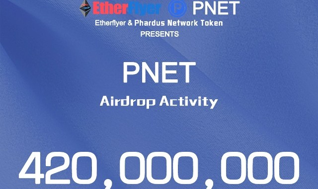 Etherflyer Exchange Airdrop Phardusnetwork – Earn PNET Coins Free