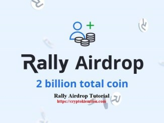 Rally Premium Airdrop Tutorial - Earn 500 RALLY Tokens Free - Worth $25