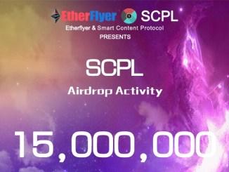 Etherflyer Exchange Airdrop SCPL – Earn SCPL Tokens Free