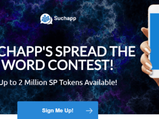 Suchapp Crypto Bounty Tutorial - Earn SP Token Free - Up To 2 Million SP Tokens
