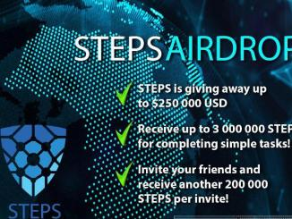 Stepstoken Crypto Airdrop Tutorial - Earn 3 Million STEPS Tokens Free