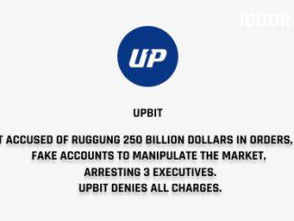 Upbit, South Korea's Biggest Crypto Exchange Accused Of Rigging 250 Billion Dollars In Fake Orders
