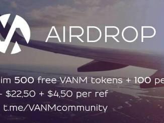 VANM Crypto Airdrop Tutorial - Earn 500 VANM Tokens Free - Worth $22.5