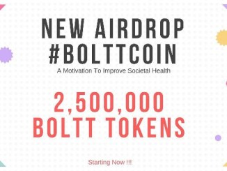 BolttCoin Crypto Airdrop Tutorial - Earn 400 BOLTT Tokens - Worth The $8.5