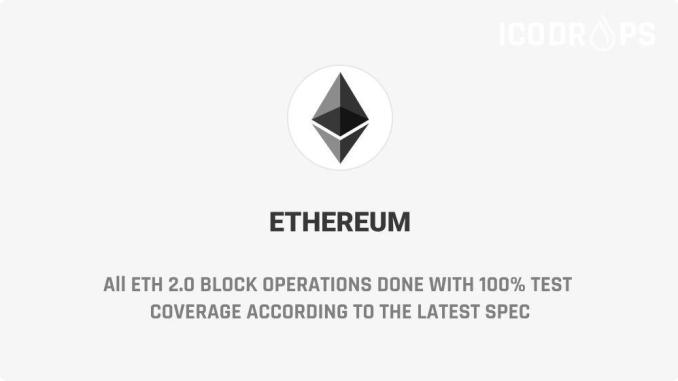 All ETH 2.0 Block Operations Done With 100%