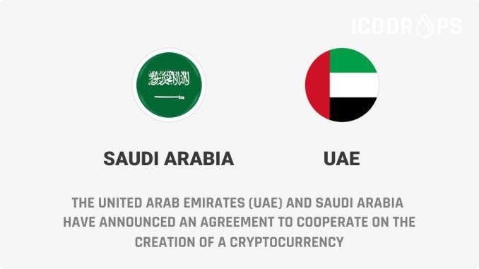 The United Arab Emirates (UAE) And Saudi Arabia Have Announced An Agreement To Cooperate On The Creation Of A Cryptocurrency