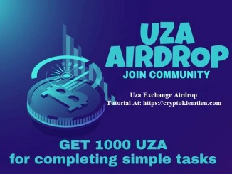 Uza Exchange Airdrop Tutorial - Earn 1,000 UZA Tokens Free - Worth The $10