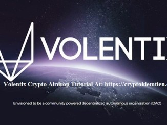 Volentix Crypto Airdrop Tutorial - Earn 20 VTX Tokens Free - Worth The $6.6