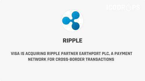 Visa To Buy Ripple Partner - British Payments Firm Earthport