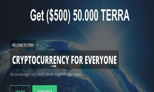 Terra Credit AirDrop