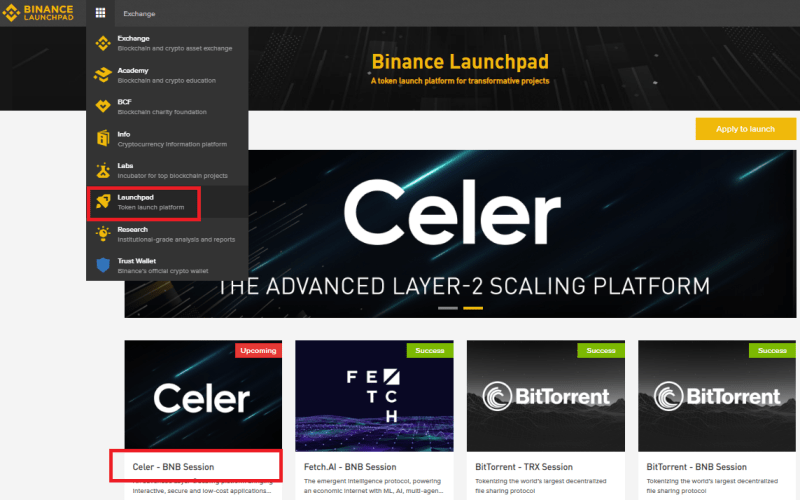 Celer Network (CELR) Token Sale Details On Binance Launchpad - How To Join And Buy Celer Network (CELR) Token?