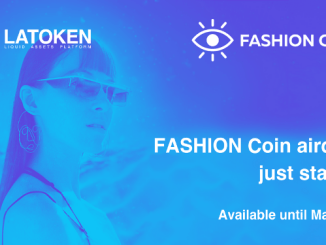 Latoken Exchange Airdrop FASHION - Earn 34K FSHN Coins Free - Worth The $34