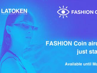 Latoken Exchange Airdrop FASHION - Earn 34K FSHN Coins Free - Worth The $34