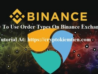 How To Use Order Types On Binance Exchange