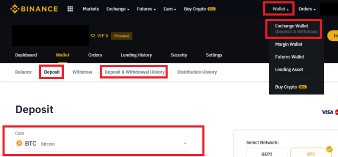 How To Deposit To Binance Exchange